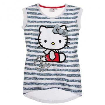 Bluza fara maneca Hello Kitty