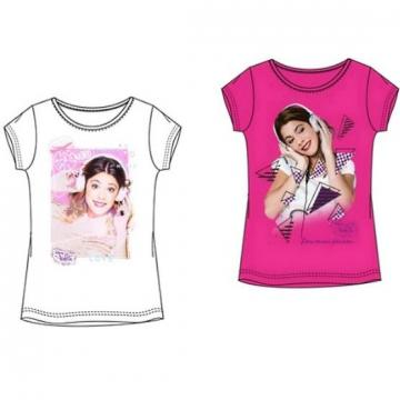 Bluza maneca scurta Violetta Disney - Hello Kids